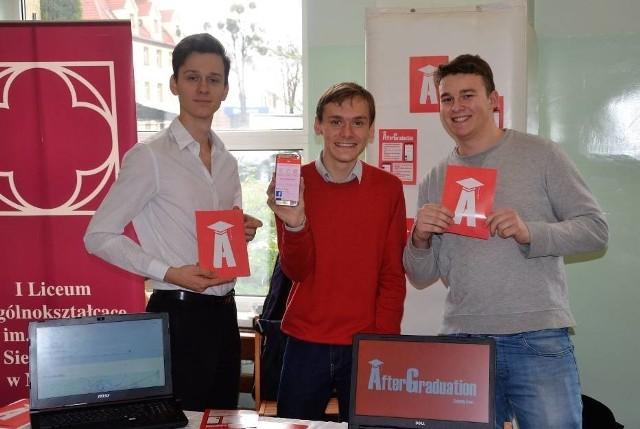 Licealiści z Gdyni i Malborka zaprojektowali aplikację AfterGraduation