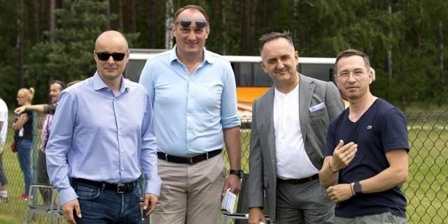 Od lewej: Michał Bobowiec, Adam Matysek, Grzegorz Ślak i Maciej Bluj