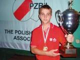 Bilard: Konrad Piekarski znowu przywiózł złoto