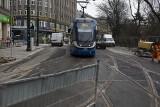 Kraków. Pierwsze tramwaje przejechały przebudowaną ulicą Basztową