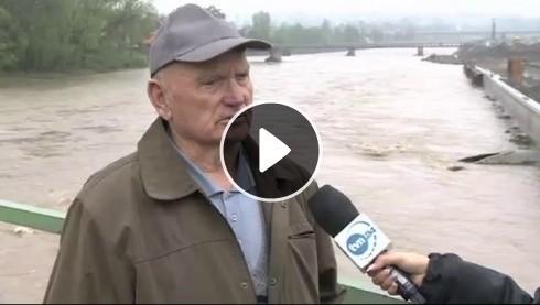Sytuacja powodziowa w powiecie żywieckim