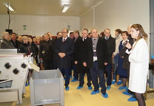 Uruchomienie szkoleniowo- produkcyjnego centrum małego przetwórstwa jest przedsięwzięciem innowacyjnym w skali województwa, a nawet całego kraju