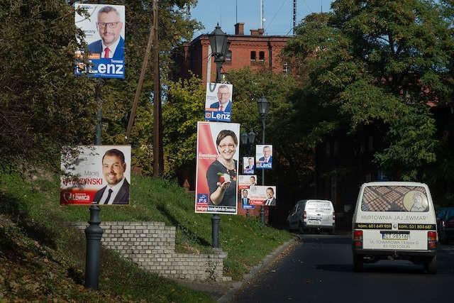 Plakaty Wyborcze Można Umieszczać W Wyznaczonych Miejscach