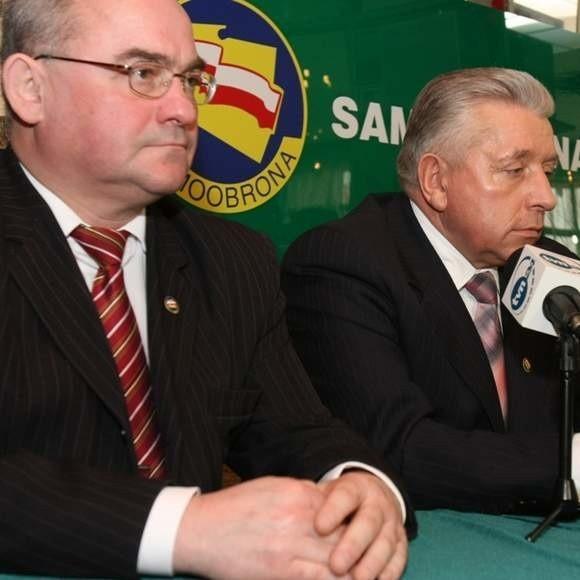 Andrzej Chmielewski od ubiegłego roku jest szefem podlaskich struktur Samoobrony