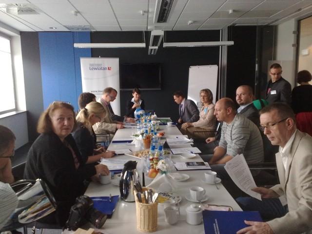 Gospodarzem pierwszego spotkania była firma Tieto Poland.