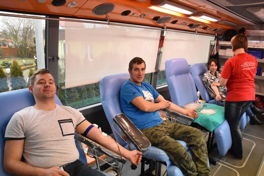 Zbiórka krwi w Parchowie.