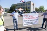 Związkowcy kontra dyrekcja WORD Toruń! Pikieta i petycja do marszałka