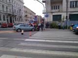 Wypadek na ul. Gdańskiej [zdjęcia]