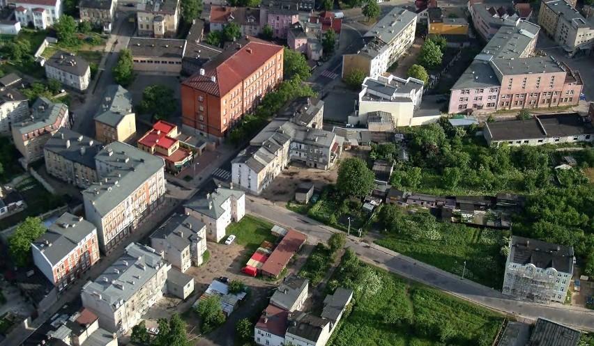 Ulica Henryka Pobożnego, skrzyżowanie z ul. Dąbrówki