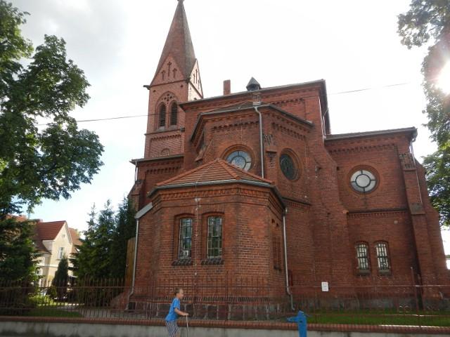 Kościół poewangelicki w bydgoskim Fordonie.