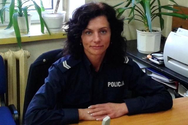 Aby zagłosować na sierż. sztab. Izabelę Grochowiecką wyślij SMS o treści POLICJANT.25 na numer 7155 (koszt 1.23 zł z VAT)