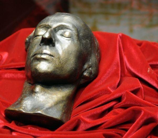 Maska pośmiertna Fryderyka Chopina