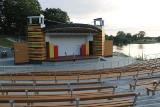 Na pierwszą imprezę gotowy jest już nowy amfiteatr w Wąbrzeźnie