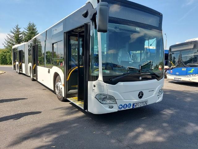 Autobus  o napędzie hybrydowym był w Bydgoszczy testowany przez miesiąc.
