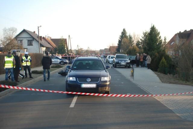 Wypadek w Jabłonnej wydarzył się w niedzielę