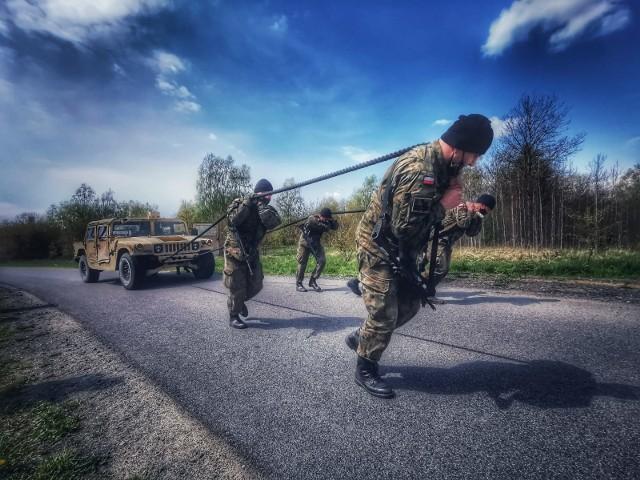 Wielkopolscy terytorialsi wzięli udział w ćwiczeniach amerykańskiej kawalerii