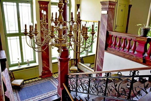 Pałac w Wiechlicach to jeden z najbardziej znanych zabytków w Lubuskiem