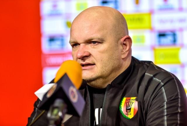 Maciej Bartoszek poprowadzi Koronę Kielce w meczu z GKS Jastrzębie.