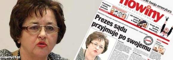 Pierwszy raz o sprawie sędzi Wiesławy Sech pisaliśmy 2 marca 2009 roku.
