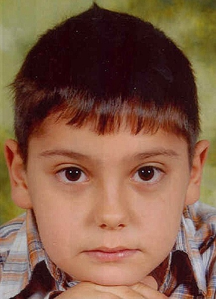 Tak wygląda 8-letni Alessandro Martini, którego poszukują policjanci z tarnobrzeskiej komendy.
