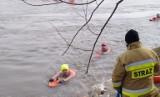 Niewiarygodny wyczyn naszych morsów. Zmierzyli się w Opatowcu z nurtem Wisły. Przepłynęli ponad 670 metrów (ZDJĘCIA)