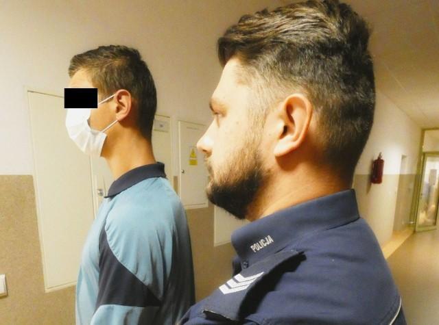 O losie 21-latka zdecyduje Sąd Rejonowy w Brzegu.