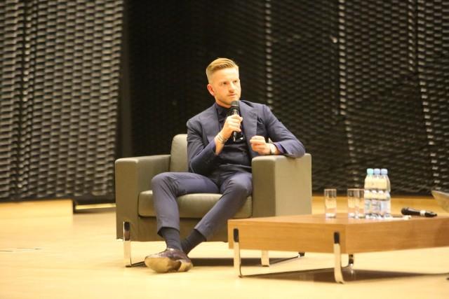 Szczepan Twardoch spotkał się z fanami w Międzynarodowym Centrum Kongresowym