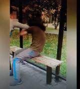 Wrocław: Samosąd na przystanku. Mężczyzna zaczepia kobiety w MPK [FILM]