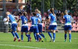 Trzecie zwycięstwo piłkarek TME UKS SMS Łódź, ale łatwo nie było