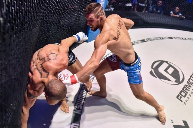 Mateusz Gamrot jest jedynym niepokonanym mistrzem KSW w zawodowych walkach