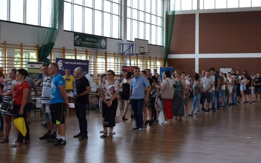 Na targi pracy w Szydłowcu przyszło wiele osób.
