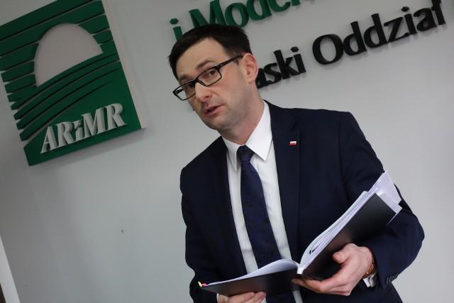 Prezes Daniel Obajtek omawiał m.in. wyniki audytu ARiMR