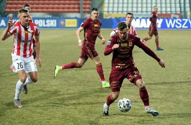 Chojniczanka Chojnice w dwóch meczach ligowych w 2021 roku zdobyła cztery punkty