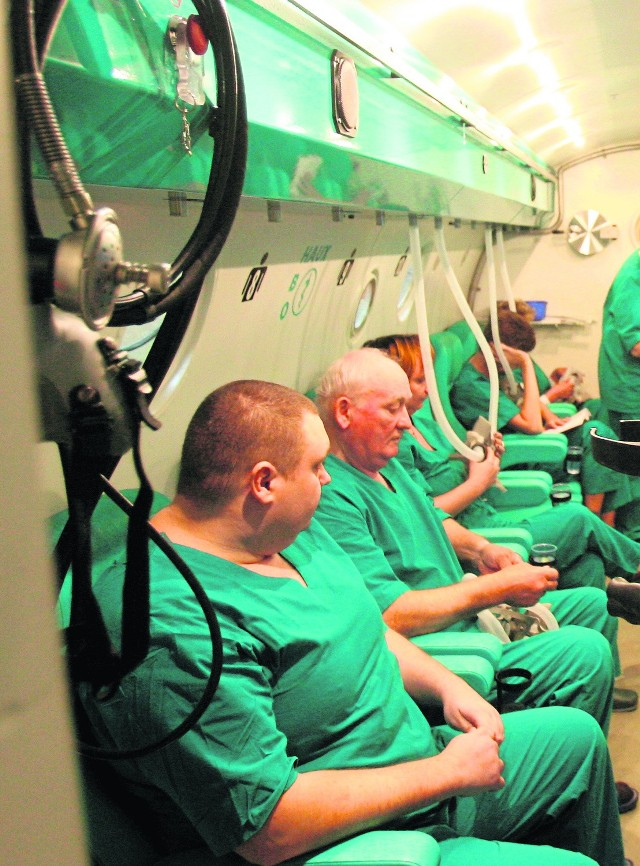 W komorze hiperbarycznej uratowano życie kilkuset osobom
