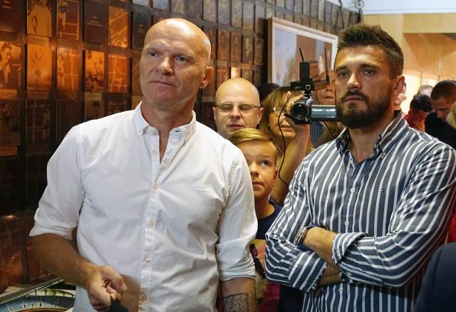 Tomasz Łapiński (od lewej)