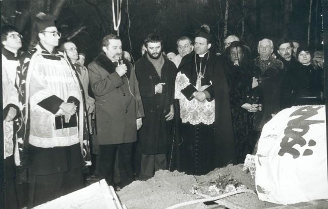 Pogrzeb zmarłego 24 lutego 1984 r. Lecha Bądkowskiego stał się wielką demonstracją środowisk opozycyjnych