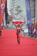 Triathlon w Poznaniu: Zwyciężczyni przeszły po plecach ciarki