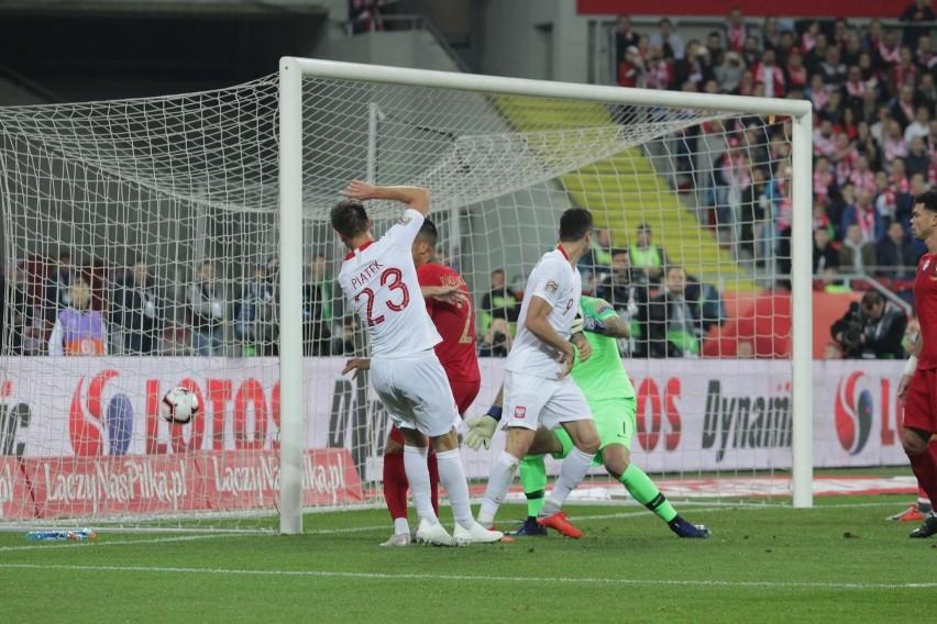 Pierwszą bramkę zdobył w meczu z Portugalią w Lidze Narodów