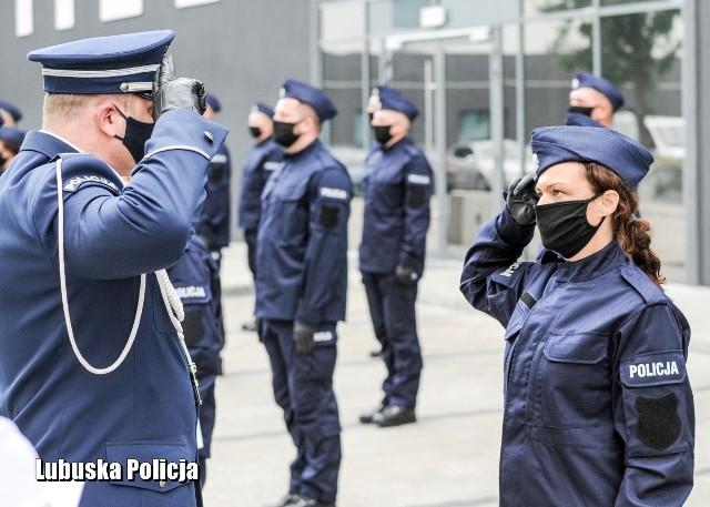 41 nowych funkcjonariuszy zasili szeregi lubuskiej policji.