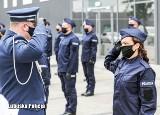 Nowi policjanci w lubuskiej policji. Ślubowanie złożyło 41 funkcjonariuszy