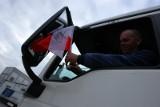 Śmieciarze protestują po przetargu GOAP: Konkurencja tak, ale uczciwa! [ZDJĘCIA]