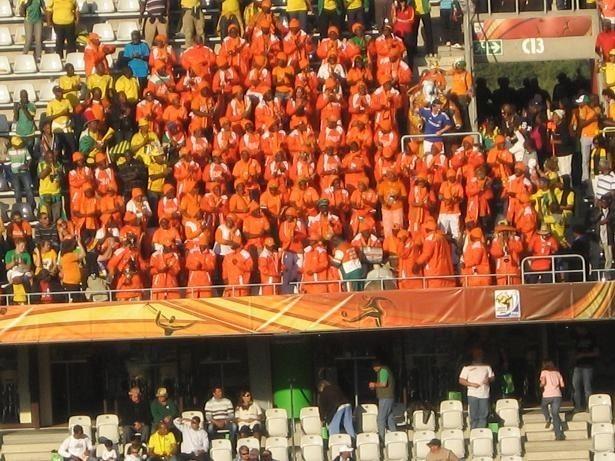 Kibice Wybrzeża Kości Słoniowej do końca byli wierni swojej drużynie
