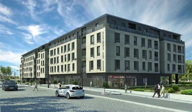 Apartametowiec przy Operze BiałostockiejBiałystok: nowy apartamentowiec przy gmachu Opery
