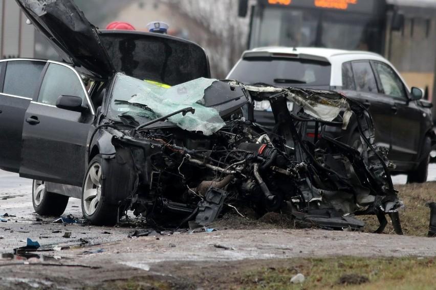 Wypadek w Aleksandrii w sobotę (23 stycznia) powiecie...
