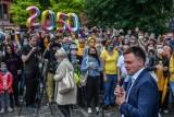 Zobacz, kto przyszedł na spotkanie z Hołownią w Bydgoszczy