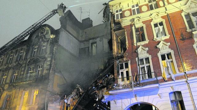 Wskutek wybuchu gazu w kamienicy przy ul. Chopina zginęły w sumie cztery osoby