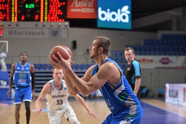 Przemysław Zamojski rozegrał 19 meczów w barwach Anwilu w PLK
