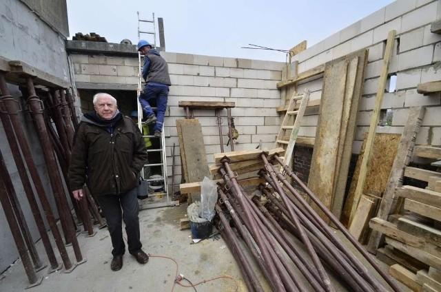 Hospicjum w Poznaniu: Rozbudowa trwa w najlepsze
