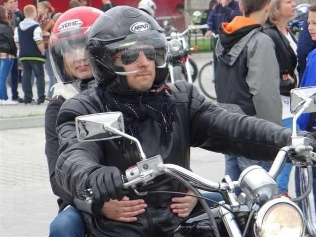 Na zlocie pojawili się motocykliści na pięknych maszynach.