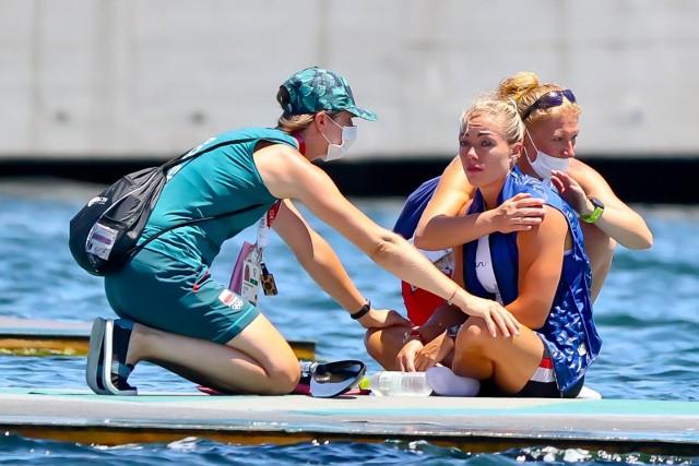 Marta Walczykiewicz na igrzyskach w Tokio 2020.